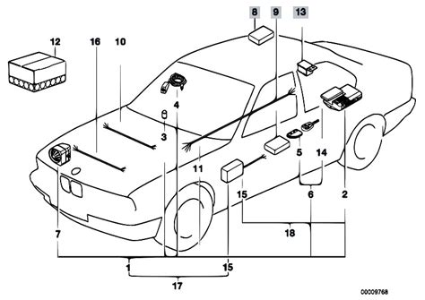 e34 540i engine wiring diagram and fuse box