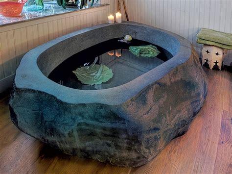 natural stone bathtub 30 stone bathtubs that will rock your bathroom