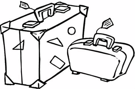 Travel Coloring Pages Suitcase To Travel Coloring Page Free Printable Coloring by Travel Coloring Pages