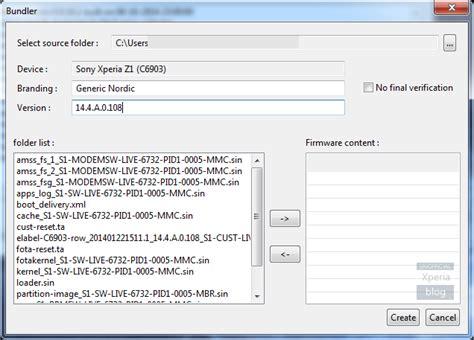 cara membuat file firmware ftf dari xperiafirm menggunakan ia phone cara membuat sendiri firmware ftf menggunakan