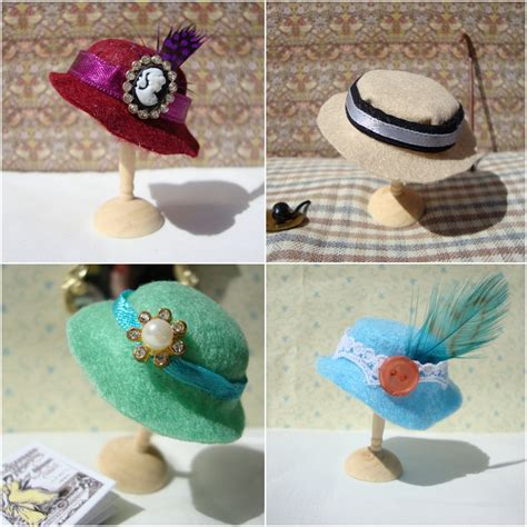 how to make a mini miss beatrix how to make a miniature hat
