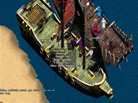 boats ultima online boat pvp high seas adventure ultima online youtube