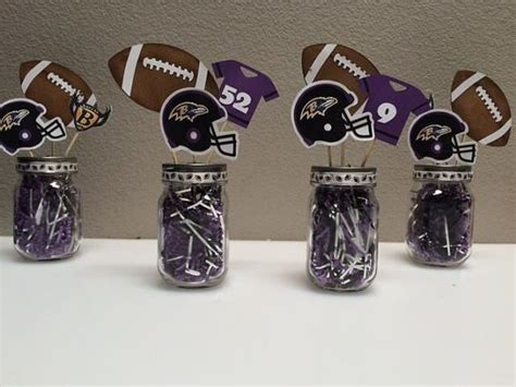 sports themed baby shower centerpieces football themed centerpieces bowl centerpiece