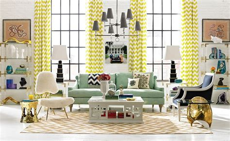 Living Room Golden Yellow 10 Living Room Design Projects By Jonathan Adler Home
