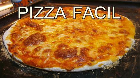 recetas faciles de cocina y economicas pizza casera italiana recetas de cocina faciles rapidas
