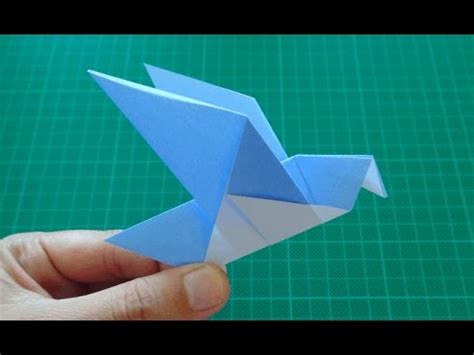 origami for kids bird pigeon