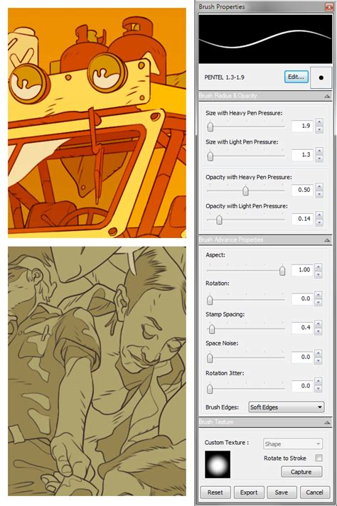 sketchbook pro eraser shortcut caw sketchbook pro brush settings