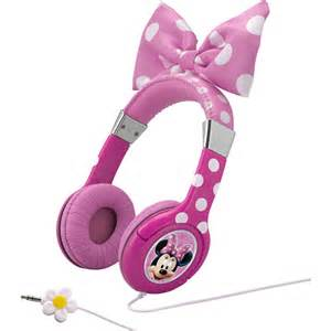disney minnie mouse bow tique headphones walmart