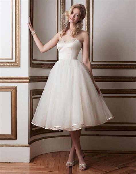 Length Wedding Dresses by 21 Best Tea Length Wedding Dresses Everafterguide