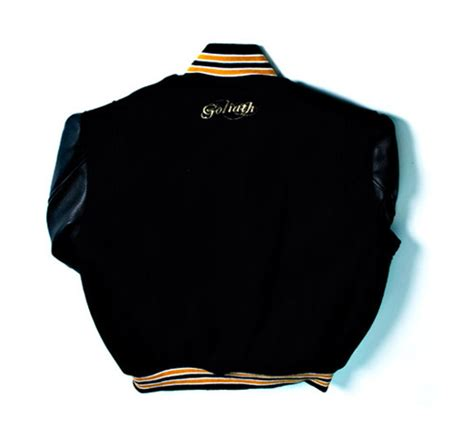 Lettermans 25th Anniversary by Goliath 4th Anniversary Letterman Jacket Hypebeast