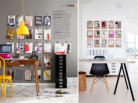 Fun Home Decor Ideas Diy Home Clipboard Inspiration Wall A Pair Amp A Spare