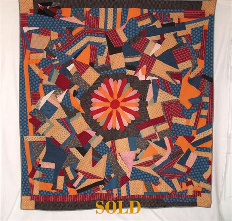 Folk Quilt by American Antique Folk Quilts