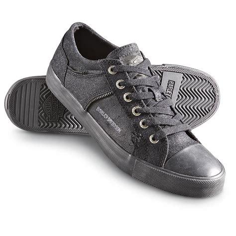 harley shoes s harley davidson 174 leo canvas shoes black 185079