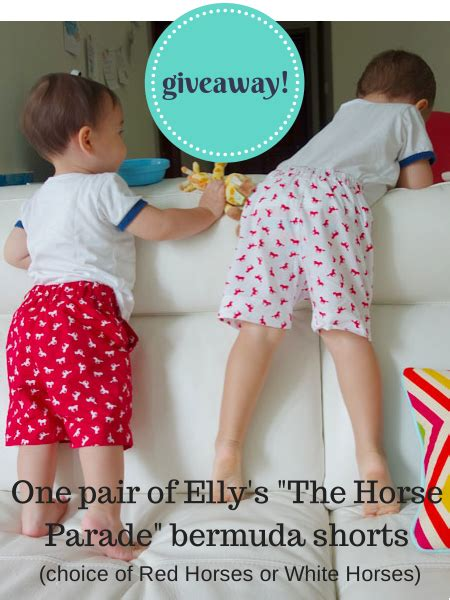 Giveaway Horses Qld - giveaway elly the horse parade bermuda shorts worth 39 adventure baby