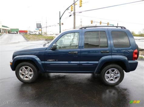 2003 jeep liberty limited patriot blue pearl 2003 jeep liberty limited 4x4 exterior