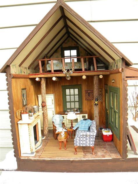 diy log cabin kits miniature log cabin dollhouses 114 best log cabin dollhouses images on pinterest doll
