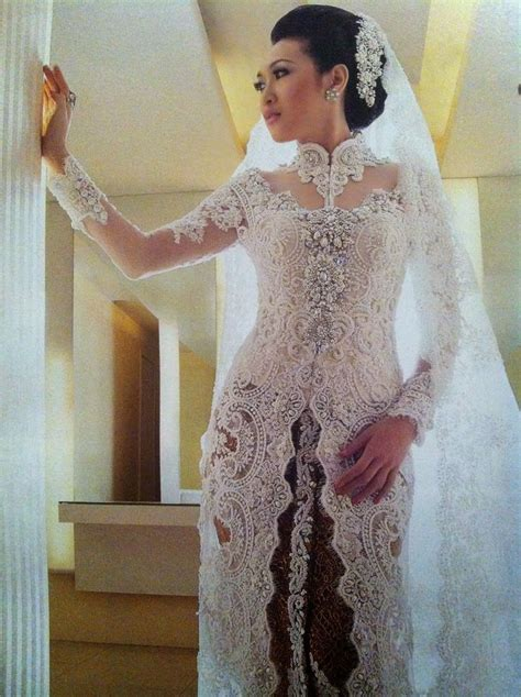 dress putih nikah 17 best images about kebaya lace on pinterest clothing