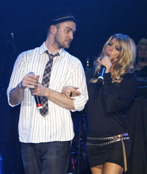 Fergie Performs With Justin Timberlake by Who Dated Before They Were Us Weekly