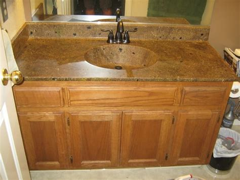 Bathroom Sink Countertop Combo by Bathroom Counter Top Sink Combo Put The Right