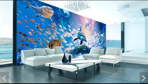 where to buy wall murals aliexpress buy 3d photo wallpaper custom 3d wall murals wallpaper the bottom of the sea