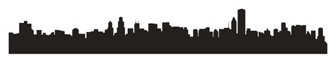 City Outline Vector by City Skyline Graphic Cliparts Co