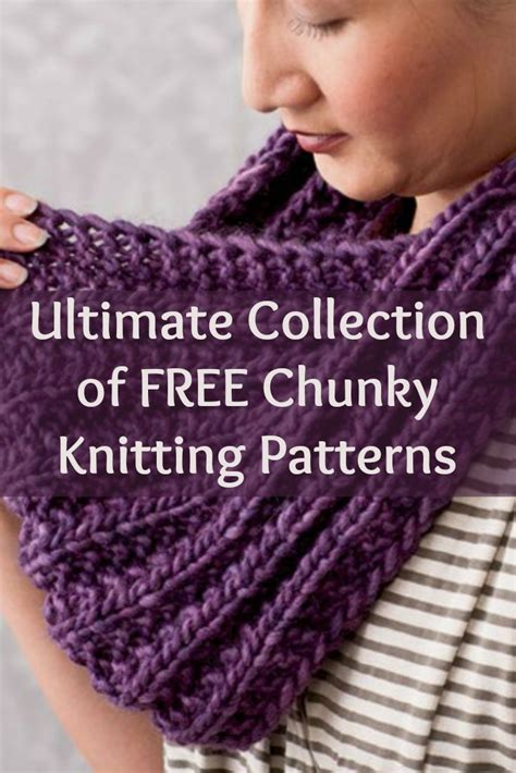chunky free knitting patterns 25 best ideas about chunky knit scarves on