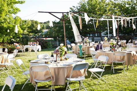 how to plan a backyard party 8 tips to plan a fabulous wedding with 10 000 budget