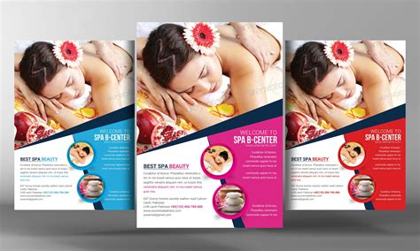 10 Tips In Designing A Spa Flyer Spa Flyer Templates Free