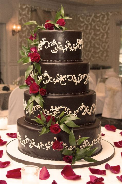 Wedding Chocolate Cakes by Shelby S Wedding Cake German Chocolate Cake Roses