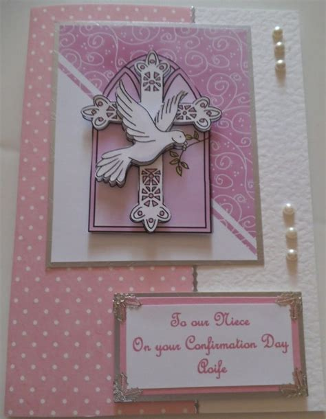 Handmade Confirmation Cards - 17 best images about handmade communion confirmation