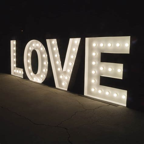 Light Up Letters Stunning 1 2m Illuminated Marquee