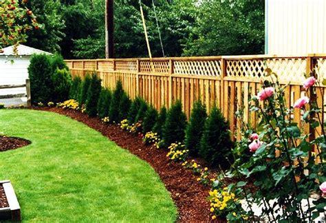 Wooden Garden Fence Wood Garden Fence Designs Homefurniture Org