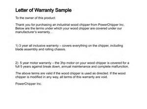 Does Car Warranty Cover Electrical Warranty Letter Format Best Template Collection