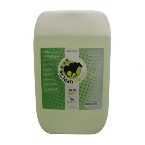 equine rug wash cleanround fragranced rug wash