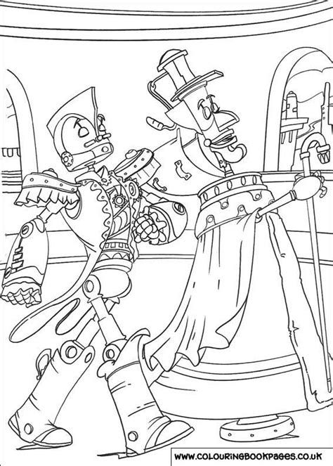 robots colouring pages 18 print off pages
