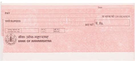 Letterhead Of Bank Of Maharashtra bank cheque icici bank cheque printing software