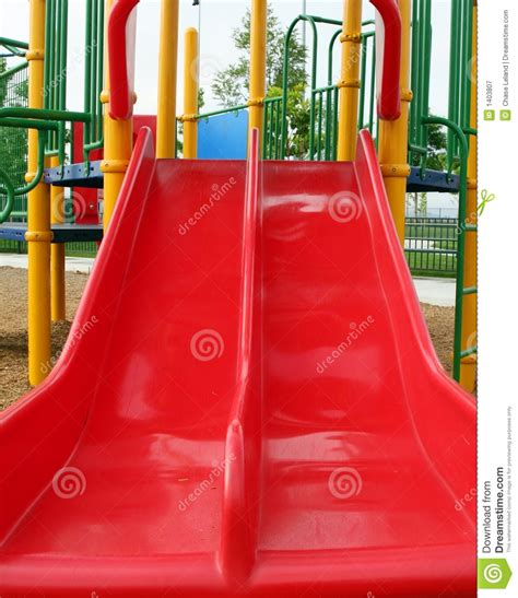 childrens play slide royalty free stock photography