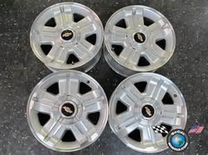 07 12 chevy tahoe factory 18 quot wheels oem rims 1500
