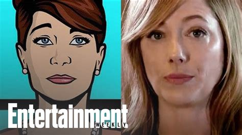 judy greer on archer archer judy greer recaps the show in 30 seconds