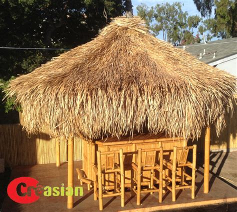 Tiki Hut Supplies Florida 15 Ft Bamboo Tiki Palapa Bamboo Tiki Hut