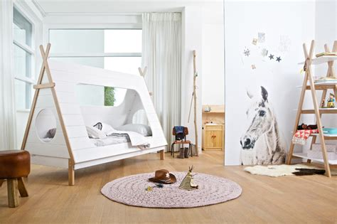 Contemporary Bedroom Decorating - camping themed kids bedroom lifestyle