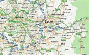 denton map denton united kingdom location guide