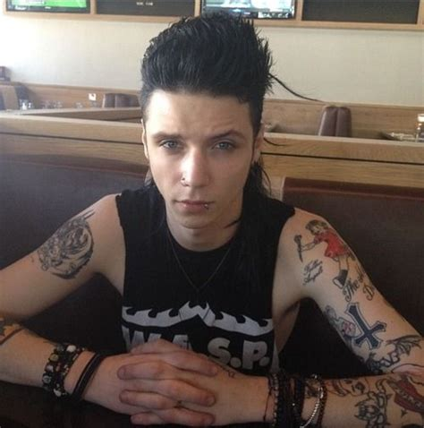 ronnie cross tattoo 76 best images about andy biersack bvb on