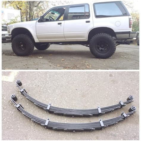 ford mercury car leaf springs oem heavy duty lifted ford explorer 1991 00 rear lift springs 04 quot pair