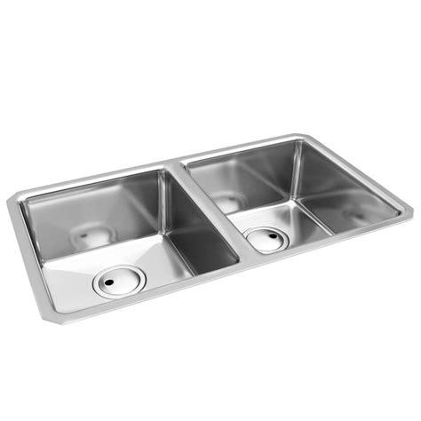 2 Bowl Kitchen Sink Abode Matrix R25 2 0 Bowl Kitchen Sink Aw5006