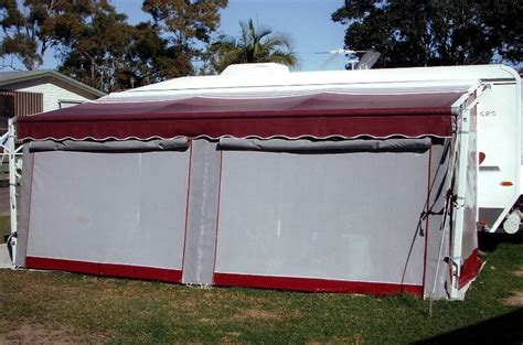 caravan awning side walls ways to setup an annexe caravan annexes galaxy caravans