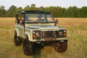 land rover defender 90 with turbo diesel engine and