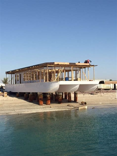 trimaran houseboat trimaran houseboat house boat made in uae abudhabi