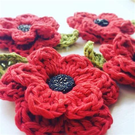 knitting pattern remembrance poppy remembrance poppy brooch crochet pattern by bennyrens