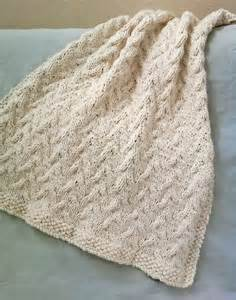 luluknits cable knit blanket